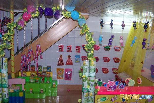 集美区实验幼儿园角色游戏环境 糖果屋